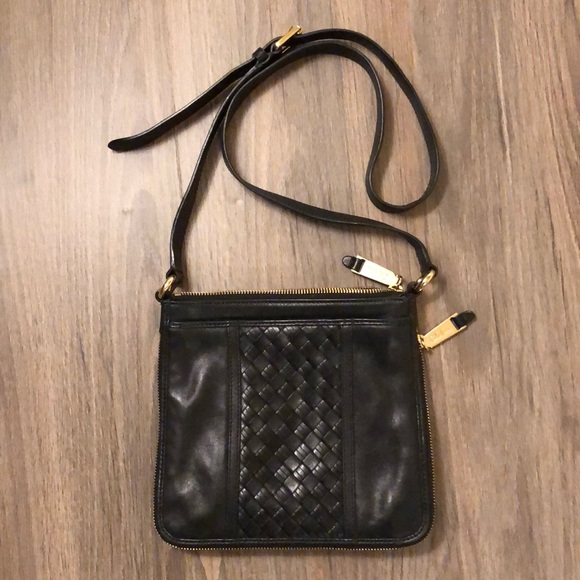 0eb30e84b4 Cole Haan Handbags - Cole Haan Black Leather Crossbody Bag